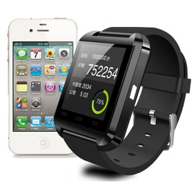 Smartwatch U8 Relogio Pulso Bluetooth Iphone Android Samsung