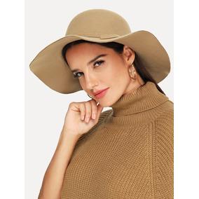 Sombrero Dama Sombrero Beige Estilo Floppy Sombrero Mujer 785153479ef