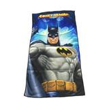 Toallon Playera Lona Infantil Batman Liga De La Justicia