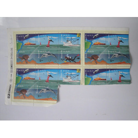 Brasil C 2182/87 Farol Animais Navio Mergulhador 1999 Nnn