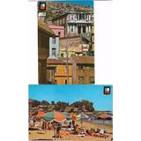 2 Postales De V Region Valparaiso Y Papudo 80
