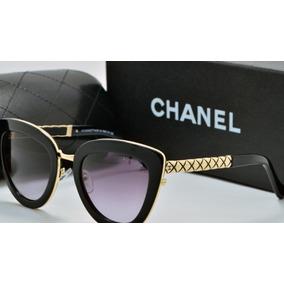 4356262c9c3db Oculos Solar Feminino Chanel - Óculos no Mercado Livre Brasil