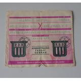Ingresso Antigo Futebol Mogi Mirim Vs São Paulo 1993