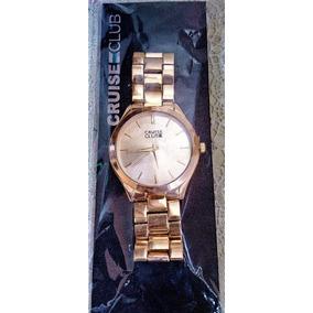 Relogio Cruise Club De Luxo - Relógios De Pulso no Mercado Livre Brasil 63ef9a03ee3b8