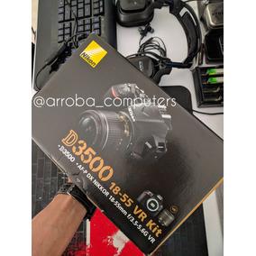 Camara Nikon D3500 Lente 18-55mm