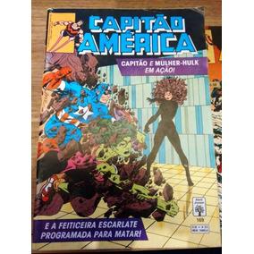 Capitão América Coleção Ed Abril 34, 46, 51a214 164 Revistas