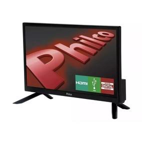 Tv Para Caminhão 12v 16 Philco Com Conversor Multilaser