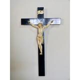 Cristo Antiguo Labrado En Marfil Origen Francés Siglo Xix