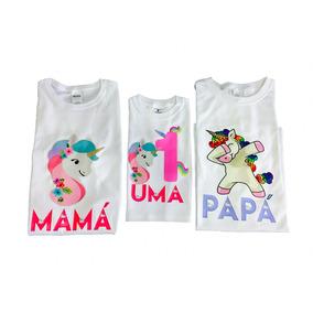 7 Playeras Personalizadas Para Piñata Festejo Infantil 7pzas