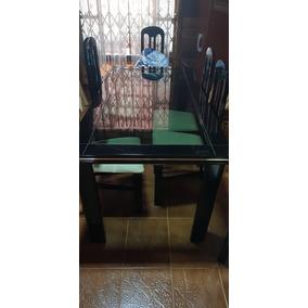 Mesa (6 Cadeiras) / Armario-aparador / Espelho
