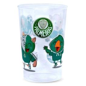 bf00bef5d7 Copo Infantil Palmeiras Plástico Transparente Lolly 350ml