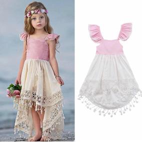 Vestido Playa Nina Talla 1 A 6 Anos