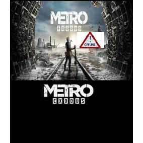 Metro Exodus Pc Original Offline Via Plataforma Epic Games