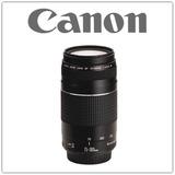 Canon Lente Ef 75-300 Mm F/4-5.6 Iii - Inteldeals