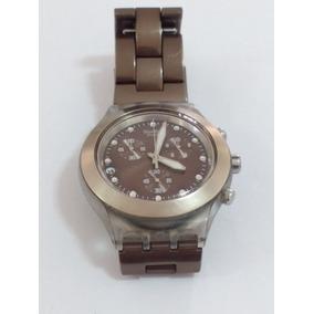 7c61669fdf7 Relogio Swatch Irony Diaphane Automatic - Relógios no Mercado Livre ...