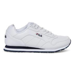 Tenis Fila Cress Blanco Azul Hombre 1sc60512-125