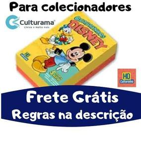 Box 5 Gibis Culturama Disney 2019 Nº 0 Zero Frete Grátis