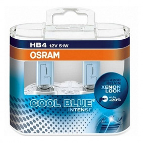 Lâmpadas Hb4 Osram Cool Blue Intense 4200k Lacrada Original
