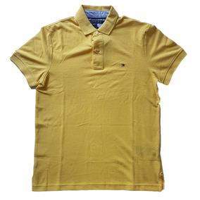 Camisa Polo Tommy Hilfiger Custom Fit Masculina Original 57ab45f52c58a