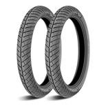 Juego Llantas Michelin City Pro 90/90-18 Y 2.75-18 Moto