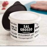 Tupperware Caixa Mantimento Sal Grosso Pb (preto Branco)