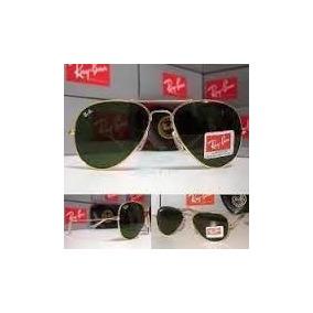 Ray Ban 8015 Armação Dourada E Lente Verde - Óculos no Mercado Livre ... 9f6d673374