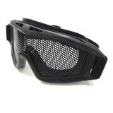 Óculos De Proteção Airsoft Nautika Tela Metalica Preto
