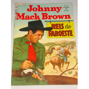 Reis Do Faroeste Nº 40 De 1956 Johnny Mack Brown Ebal Banca