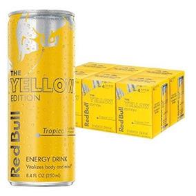 Red Bull Yellow Ed. Bebida Energetica 24 Pack Envio Gratis