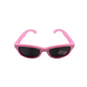 65f5f20ec46a4 Óculos De Sol Infantil Lika Acessórios Inquebrável 4028 Rosa