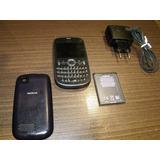 Nokia 201 Asha, 2mp, Mp3 Usado Em Perfeito Estado Desbloque
