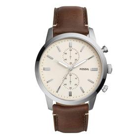 8723464a7a80 Reloj De Pulsera De Cuero Ancha - Reloj para Hombre Fossil en ...