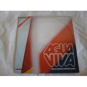 Lp Trilha Sonora Internacional Agua Viva, Disco Vinil, 1980