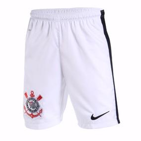 Calção Short Nike Corinthians Ha Gk Goleiro Branco Original bd77be79e76f2
