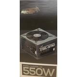 Fuente Pc Sentey Snp550-hs 550w Reales 80 Pluswhite