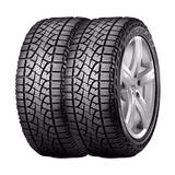 Combo X2 Neumaticos Pirelli 245/75r16 Scorp Atr 120r Eg2