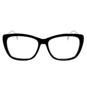 Armação Gatinha Feminina Mulher Óculos Lentes Sem Grau Fy117