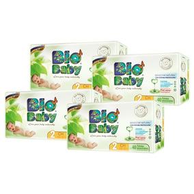 Caja Pañales 160 Bio Baby Unisex Talla Chica