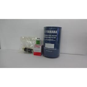 Kit Filtro Combustível Motor Popa Yamaha 4t.f-40 Ao F-115hp