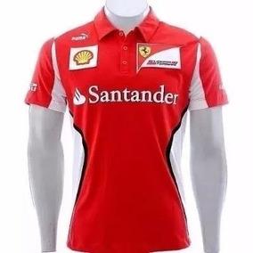 Camisa Polo Ferrari Formula 1 Varias Cores Pronta Entrega - Pólos ... 69485f3543c