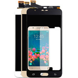 Tela Display Lcd Galaxy J7 Prime G610 Com Brilho + Pelicula