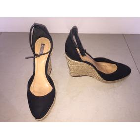 32a39f9bf Anabela Schultz Coleção Atual Preta Tam 36 Feminino - Sapatos no ...