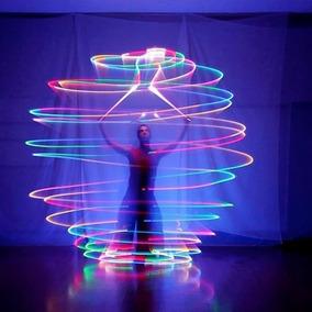 Esfera De Luz Led Poi Silicon 6 Colores 1pza El Mejor