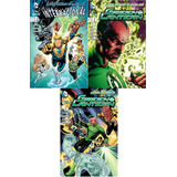 Liga De Justicia Internacional 1 + Green Lantern 1 Y 2 Ecc
