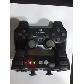 O Par Controle Ps2 Sem Fio Para Play Station