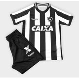 Conjunto Botafogo Infantil no Mercado Livre Brasil 8bbf917547c7c