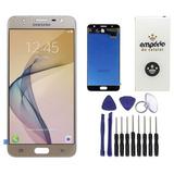 Tela Touch Display Lcd Samsung Galaxy J7 Prime Dourado