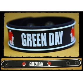 Set 2 Pulseras Silicona Green Day Nuevas Excelente Calidad!!