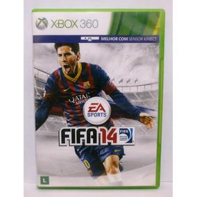 Fifa 14 Jogo Xbox 360 Português Usado Mídia Física