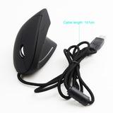 Mouse Vertical Ergonómico Led Con Luz De Fondo 3200 Dpi